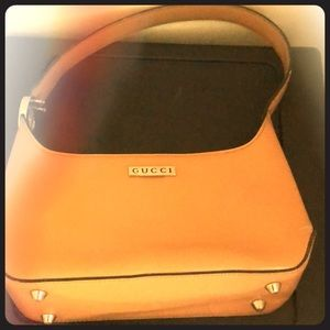 Carmel colored Gucci bag